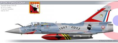 avion de chasse en corse