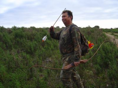 chasse a l'arc en corse