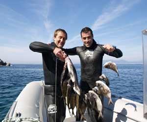 chasse sous marine en haute corse