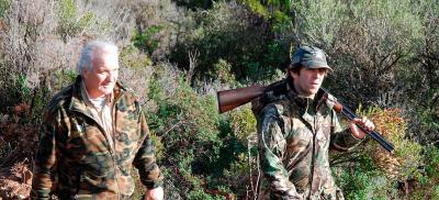 chasse traditionnelle du sanglier en corse