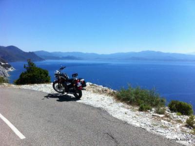 gite corse en moto
