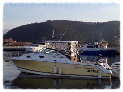 location bateau de peche en corse