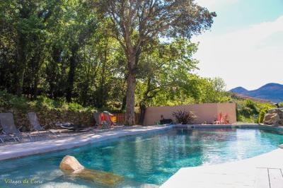 location gite corse avec piscine