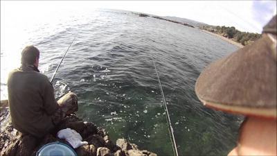 peche en corse bord de mer