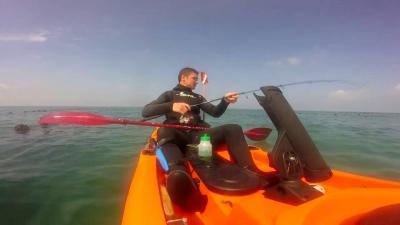 peche en kayak corse
