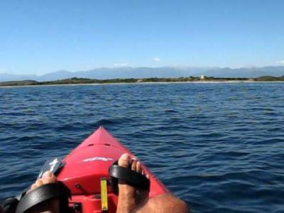 peche en kayak en corse